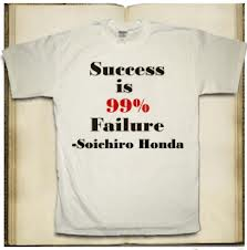 Success is 99 Percent Failure
