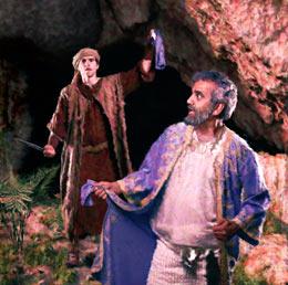 David Cuts Sauls Robe