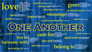 One Anothers of Scripture